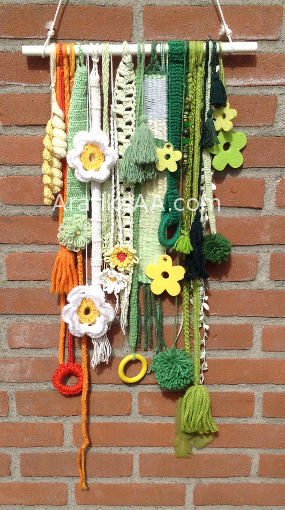 Aratika's Spring Things wanddecoratie